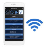 Smart Wireless monitoring and smartphone app